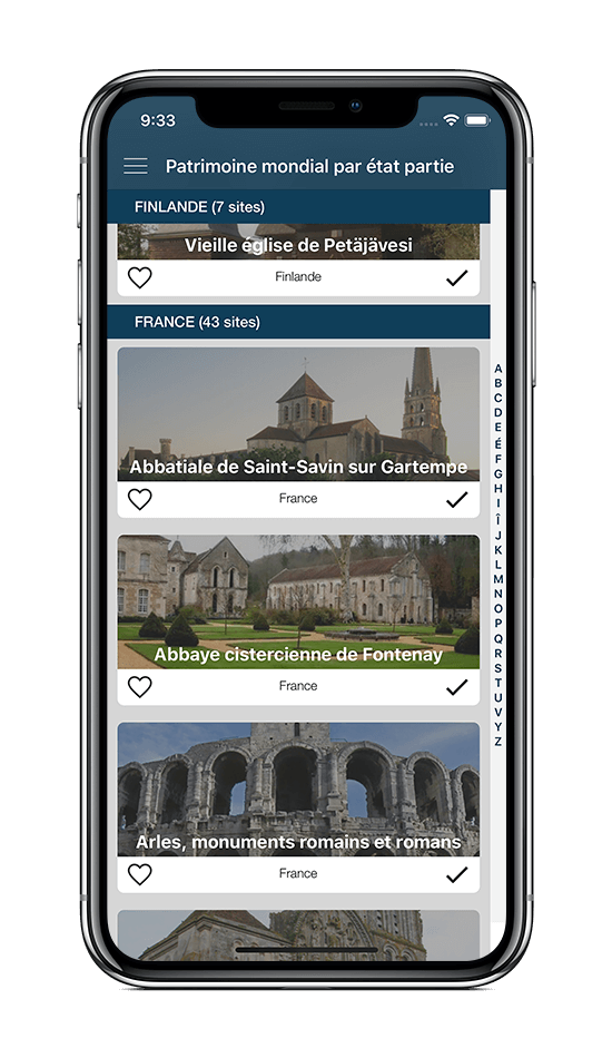 App World Heritage - iOS